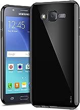 Galaxy J7 Case, Aeska Ultra [Slim Thin] Flexible TPU Gel Rubber Soft Skin Silicone Protective Case Cover for Samsung Galaxy J7 2015 (Black)