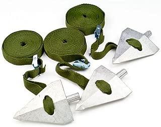 ATG-J Arbor Supplies Tree Guying Kit, Aluminum - for 5-7