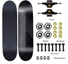 """Aon-MX Cruiser Skateboard 31"""" Adult Professional Skateboard Equipped with ILQ-9 100A PU Skateboard Wheel Boys and Girls 6-12 Years Old Outdoor Sports"""