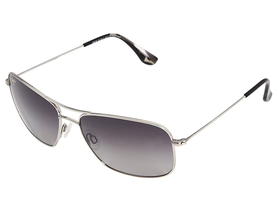 Maui Jim Wiki Wiki (Silver/Neutral Gray) Sport Sunglasses