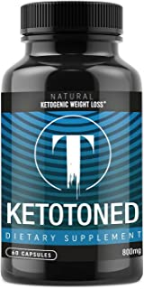 Keto Diet Weight Loss Pills - Fat Burner Appetite Suppressant - Exogenous Ketones Carb Blockers - 60 Capsules