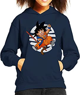 Cloud City 7 Dragon Ball Z Cute Goku Tail Kid's Hooded Sweatshirt