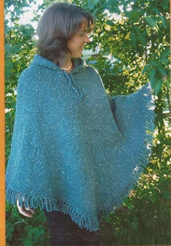 Women s Poncho Knitting Pure Simple Easy Knitting Pattern 246 Pattern Only product image