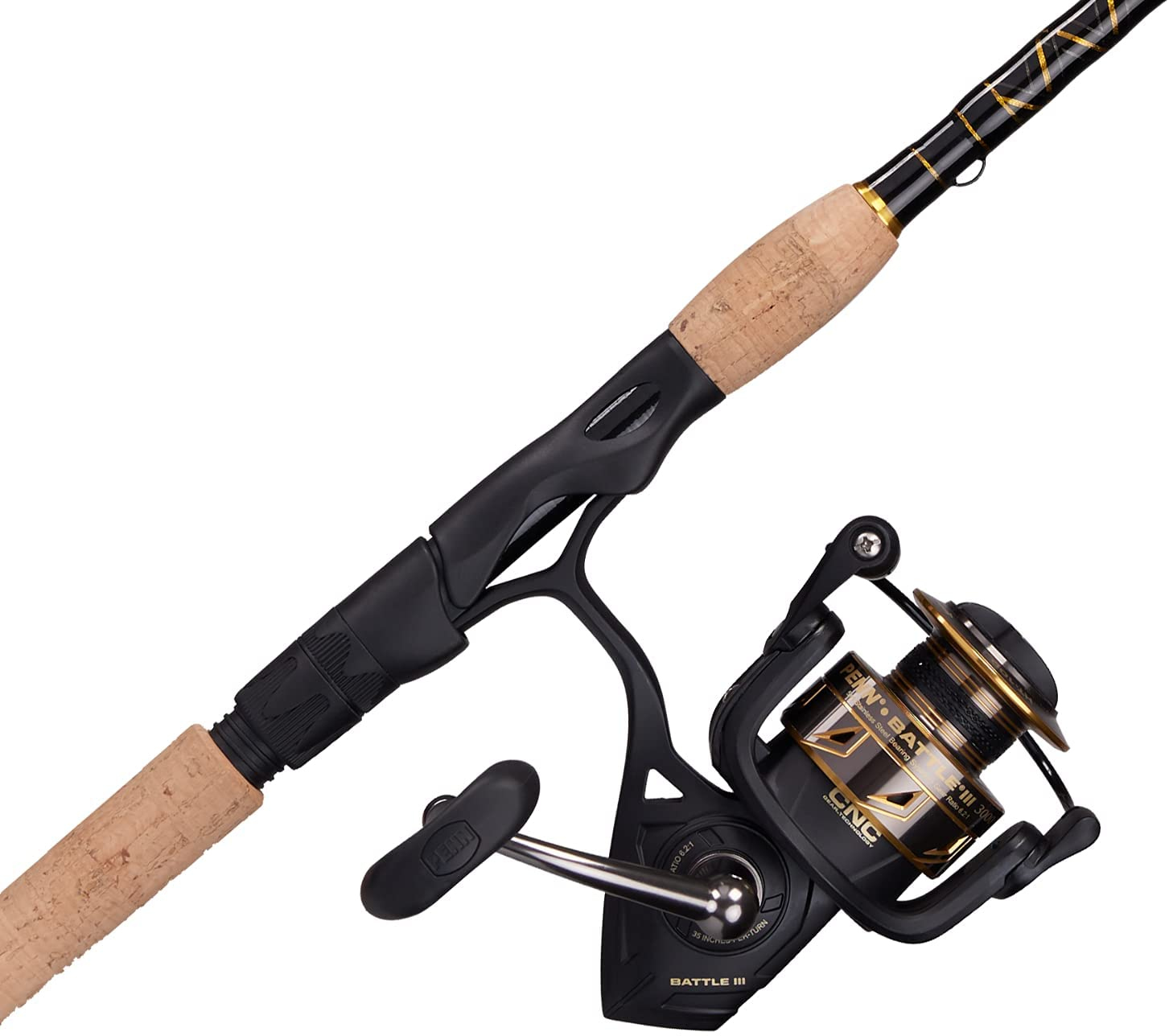 PENN Battle Spinning Reel and Ranking TOP6 Rod Fishing OFFicial mail order Combo