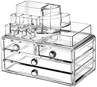 Clear Acrylic Cosmetic Organizer/Makeup Box Case