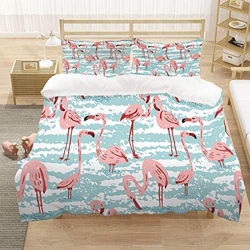 Bedclothes-Blanket bettbezug 200x200cm,3D-Digitaldruck-DREI-teilige Bettwäsche-3_200 * 229 cm (dreiteilig)