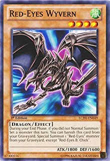 Yu-Gi-Oh! - Red-Eyes Wyvern (LCJW-EN049) - Legendary Collection 4: Joey's World - 1st Edition - Common