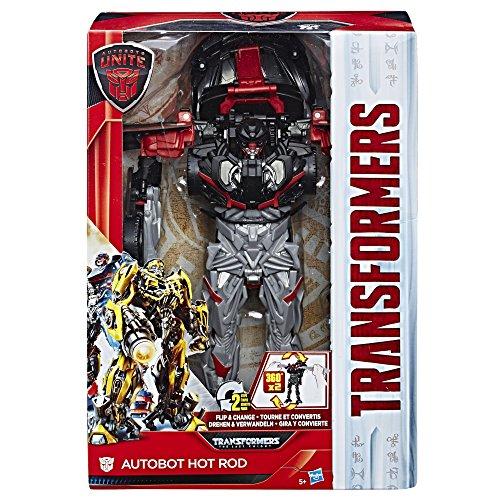 Transformers Hasbro Autobots Vereinen Flip & Ändern Autobot Hot Rod (Saturn Ringe)