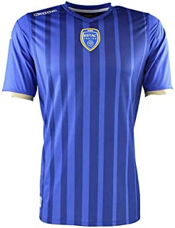 Kappa 2018-2019 Troyes Home Football Soccer T-Shirt Jersey