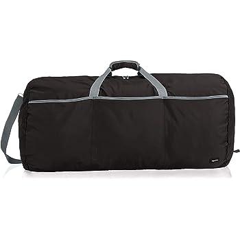 AmazonBasics Large Travel Luggage Duffel Bag, Black
