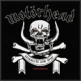 Motorhead March or Die Official Patch (10cm x 10cm)