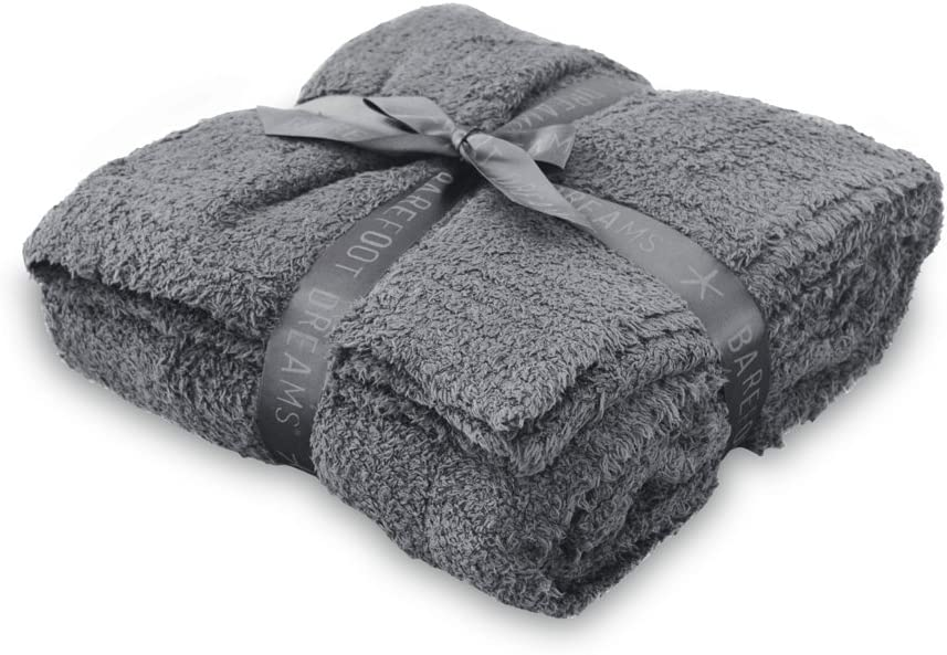 Barefoot Dreams CozyChic Brand Cheap Sale Venue Throw OFFicial site Size One Graphite