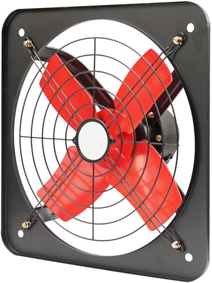 LITING Ventilador de ventilación doméstico 14 Pulgadas De Escape Cocina Ventilador De Ventana De Alta Potencia Extintor Hogar Ventilador Industrial Extractor De Humo Plaza Extintor