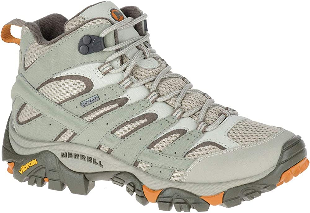 Merrell womens Moab Mid Max 69% OFF Fresno Mall hiking US boots Dusty Olive 9