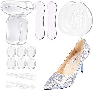 SHEEHAN Anti Slip Heel Shoe Cushion Inserts/Shoe Inserts/Heel Cushion Inserts/Heel Grips/Silicone Thin Adhesive Tape Trans...