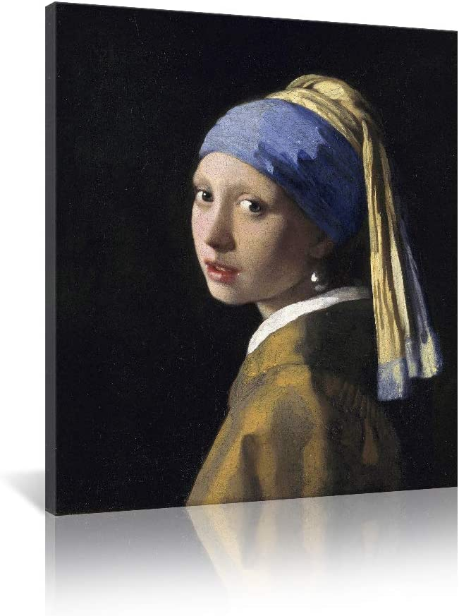 JAPO ART Girl with A Pearl Art Vermeer New arrival Max 67% OFF Johannes Reproduc Earring