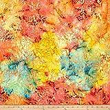 Island Batik 0591930 Canterbury Manor Acathus Tie Fabric