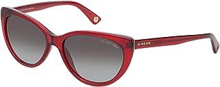 .يو. اس. بولو اسن نظارة شمسية للنساء - رمادي، 744 RED