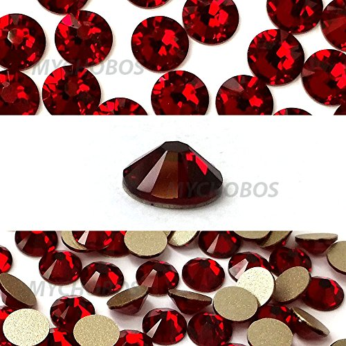 144 pcs Siam (208) Swarovski NEW 2088 Xirius 20ss Flat backs Rhinestones 5mm ss20