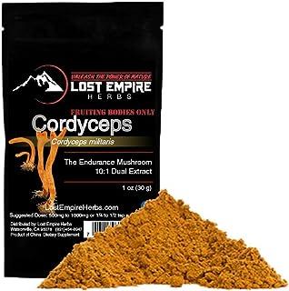 Organic Cordyceps Extract Powder - Energy and Stamina - Immune Support - Non-GMO, Gluten Free, Paleo and Vegan Friendly - ...