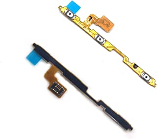 MOLIBAIHUO 20pcs Power ON OFF Volume Up Down Side Button Switch Key Flex Cable Compatible with Samsung M10 M105 M105F M20 ...