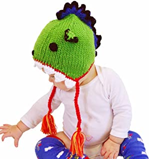 Huggalugs Baby and Toddler Dragon Beanie Hat,or Legwarmers