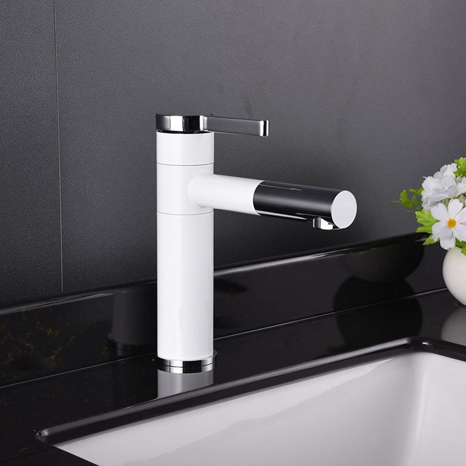 GZF Faucet paint base faucet redating basin faucet bathroom wash basin hot and cold faucet single hole faucet