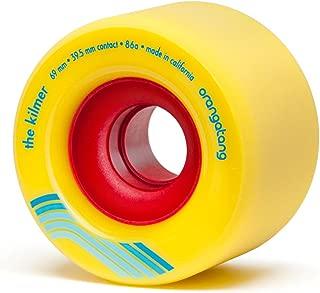 Orangatang Kilmer 69 mm Freeride Longboard Skateboard Wheels (Set of 4)