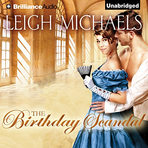 The Birthday Scandal audiobook cover art