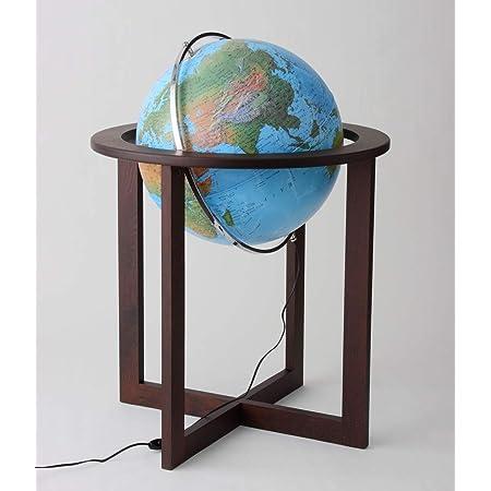 ORBYS 地球儀 クロス50 球径50cm 地勢図 45500