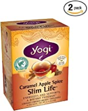 Yogi Tea - Caramel Apple Spice Slim Life (Organic Assam Tea) (2 Pack)