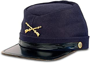 Civil War Kepi Union Army Wool Hat Blue Lined US North (Hats size 57 cm)