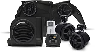 Rockford Fosgate X3-STAGE4 400 watt Stereo, Front Speaker, subwoofer, Rear Speaker kit for Select Maverick X3 Models