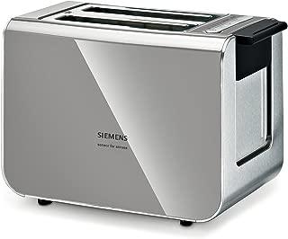 Siemens 西门子 TT86103 烤面包机 860 W 可烘烤 2 片面包 隔热外壳 Urban Grau 17 centimeters l x 31.3 centimeters w x 18.4 centimeters h