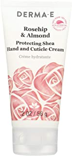 Derma-e Rosehip & Almond Protecting Shea Hand and Cuticle Cream, 2 Ounce