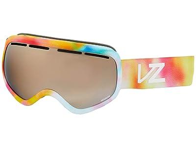 VonZipper Skylab (Little Fluffy Clouds Satin/Wild Silver Chrome) Goggles