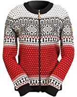 ICEWEAR Martha Women's Nordic Wool-Blend Sweater Red