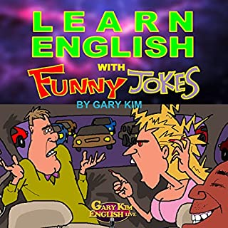 Learn English with Funny Jokes cover art