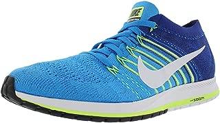 Womens Flyknit Streak Low Top Lace Up Running, Blue Glow/White, Size 10.0