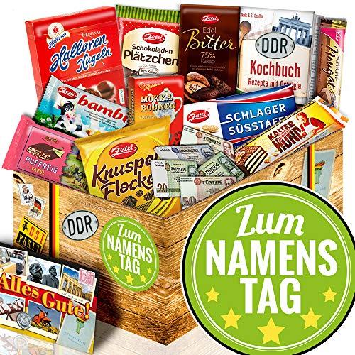 Zum Namenstag - Schoko DDR Artikel - Namenstag Geschenk Papa