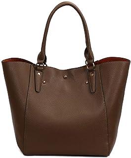 Shoulder Bag Hobos & Shoulder Bags Totes Fashion Retro Simple Shoulder Bag Handbag Handbag Clutch (Color : Khaki)