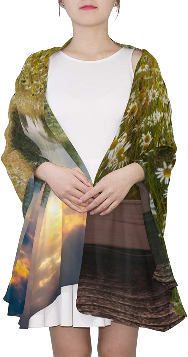 Beautiful Creative Books Unique Fashion Scarf For Women Lightweight Fashion Fall Winter Print Scarves Shawl Wraps Gifts For Early Spring