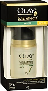Olay Total Effects Gentle UV Moisturiser with SPF 15+ 50g