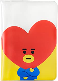 BT21 Official Merchandise by Line Friends - TATA Character Passport Holder Cover