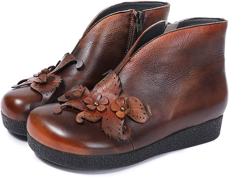 kvinnor Ankle stövlar Winter Ladies Vattentäta Anti Slip Ankle Ankle Ankle Booslips Warm Fur Foot Food skor Booten Casual Party & Evening (Färg  A, Storlek  36)  incitament främjande