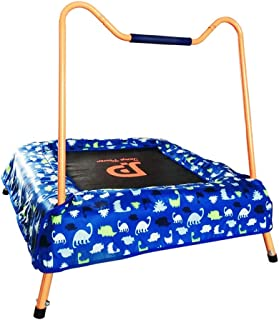 Trampoline Household children's indoor trampoline kids bouncing bed Fitness family jumping trampoline Can bear 35kg (Color...