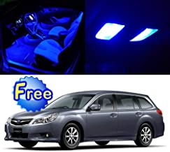 SCITOO LED Interior Lights 11pcs Blue Package Kit Accessories Replacement for 1998-2010 Subaru Legacy