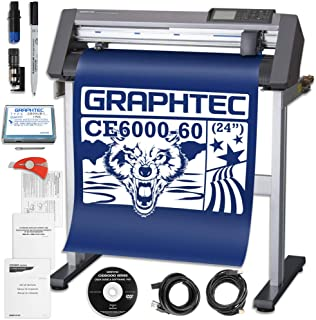 Graphtec Plus CE6000-60 24 Inch Professional Vinyl Cutter with Bonus Software and 2 Year Warranty