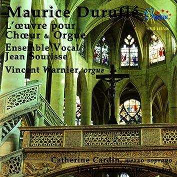 Maurice Duruflé: L'oeuvre pour choeur et orgue
