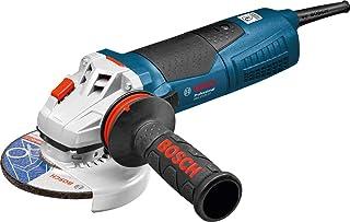 Bosch Professional vinkelslip GWS 17-125 CIT (skiv-Ø 125 mm, 1700 W, med spännmutter, sprängskydd, stiftnyckel och Vibrat...